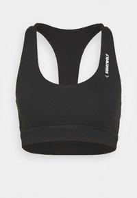 WARRIOR SPORTS BRA - Medium support sports bra - black