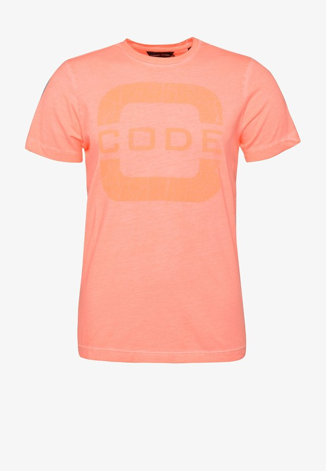 FORESAIL - T-shirts print - coral