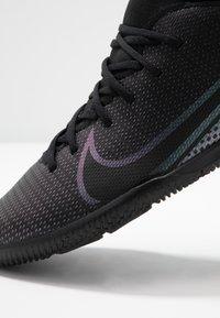 Nike Performance - MERCURIAL 7 CLUB IC - Indoor football boots - black - 2