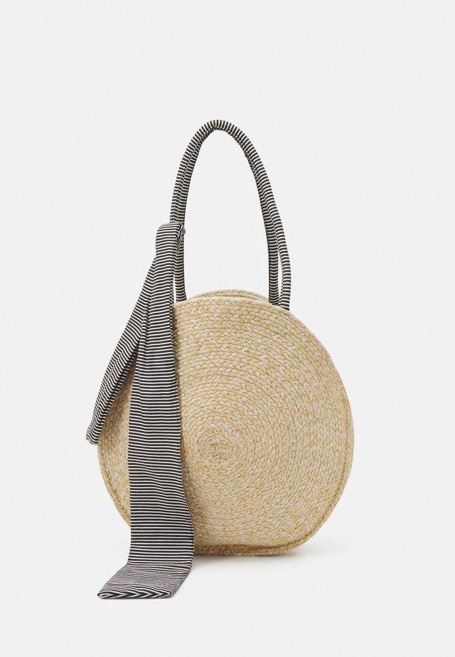 PCTASSY BAG - Torba na zakupy - nature