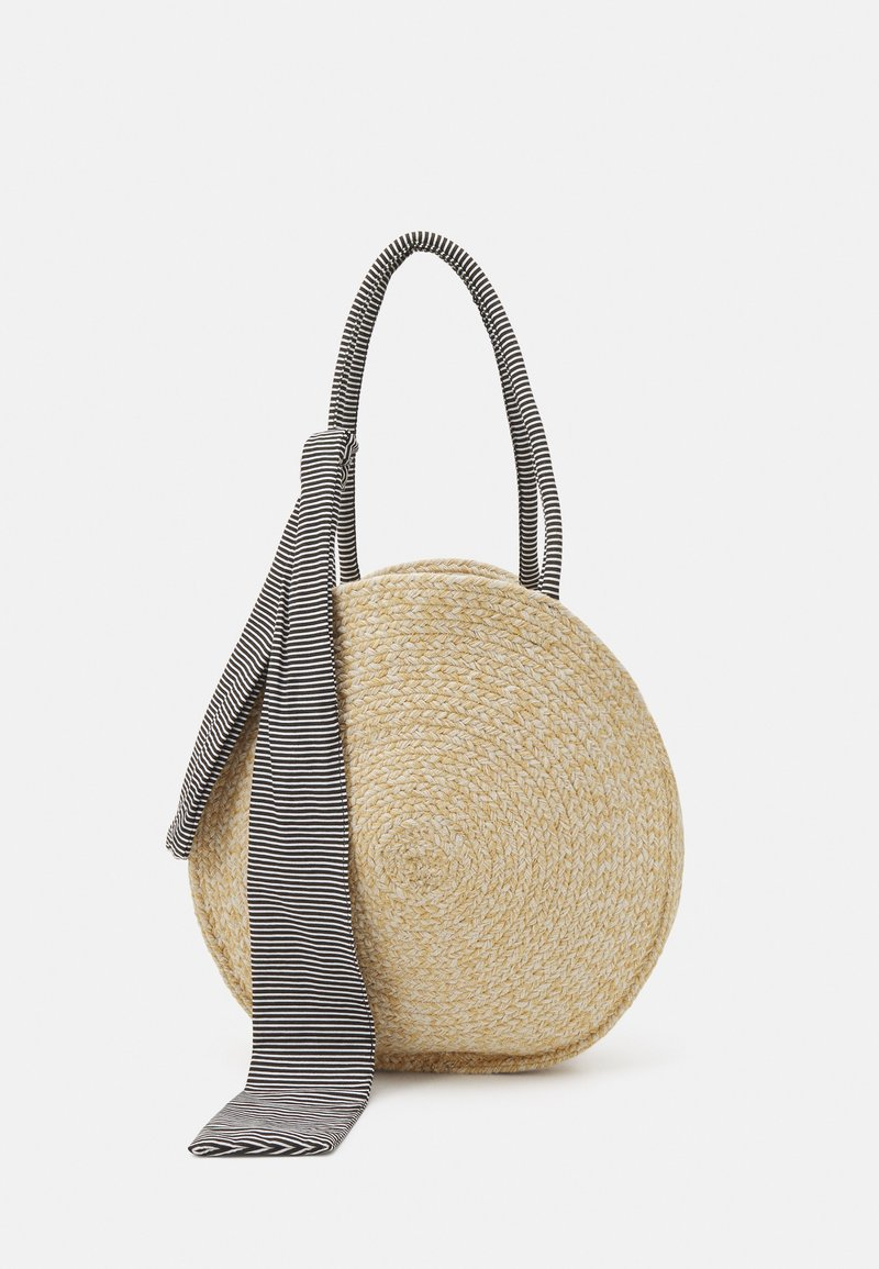 Pieces - PCTASSY BAG - Shoppingveske - nature