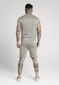 SIKSILK - RAGLAN TECH TAPE TEE - T-shirt con stampa - grey - 2