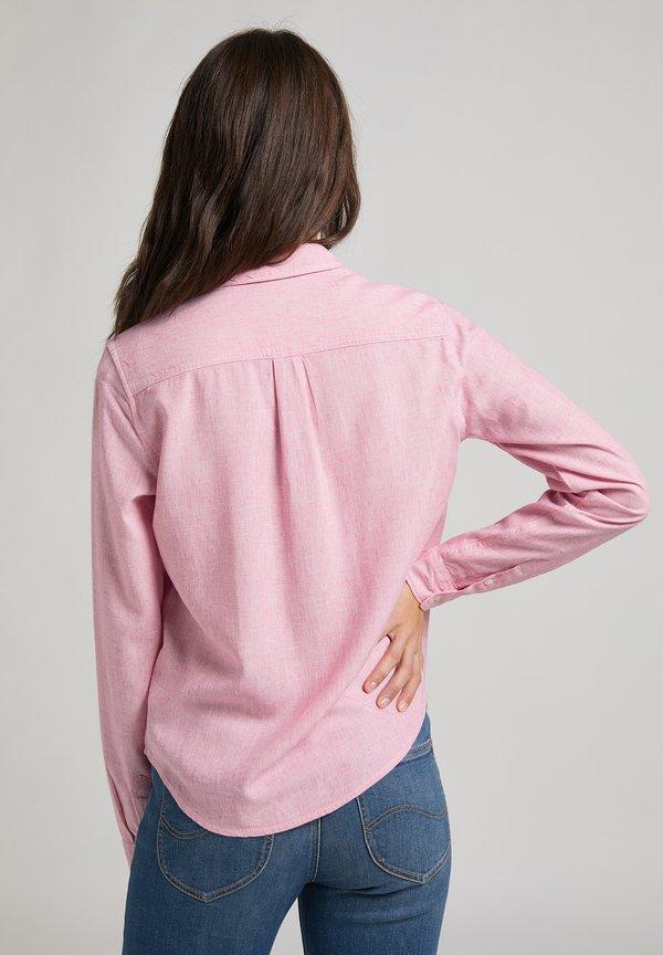 Lee REGULAR - Koszula - cherry blossom/jasnoczerwony AJJQ