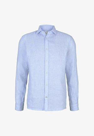 Shirt - light blue structure