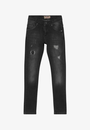 BOYS HEAVY DESTROYED - Jeans Skinny Fit - black medium