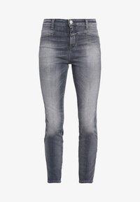 CLOSED - SKINNY PUSHER - Skinny džíny - mid grey - 5