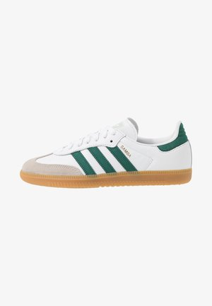 SAMBA FOOTBALL - Baskets basses - footwear white/collegiate green/vapour green