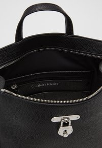 Calvin Klein - DRESSED BUSINESS BACKPACK - Rucksack - black - 4