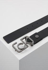 Calvin Klein - SIGNATURE BELT - Cintura - black - 2