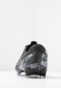 Nike Performance - MERCURIAL VAPOR 13 ACADEMY FG/MG - Tekonurmikengät - black/metallic cool grey/cool grey - 3