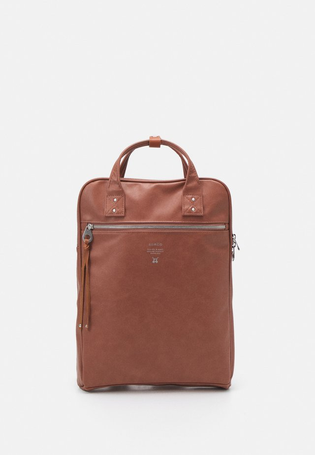 SLIM UNISEX - Batoh - pink brown