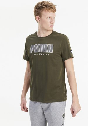 ATHLETICS  - Print T-shirt - forest night