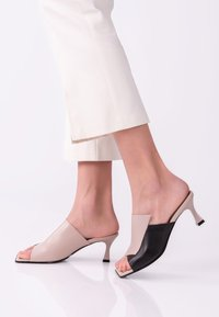 TJ Collection - Heeled mules - beige - 0
