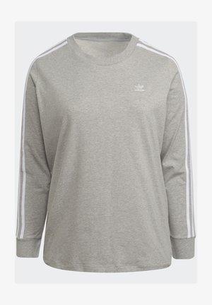 3-STRIPES ORIGINALS ADICOLOR LONG SLEEVE T-SHIRT - Long sleeved top - medium grey heather