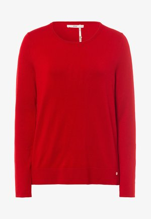 Sweatshirt - ruby red