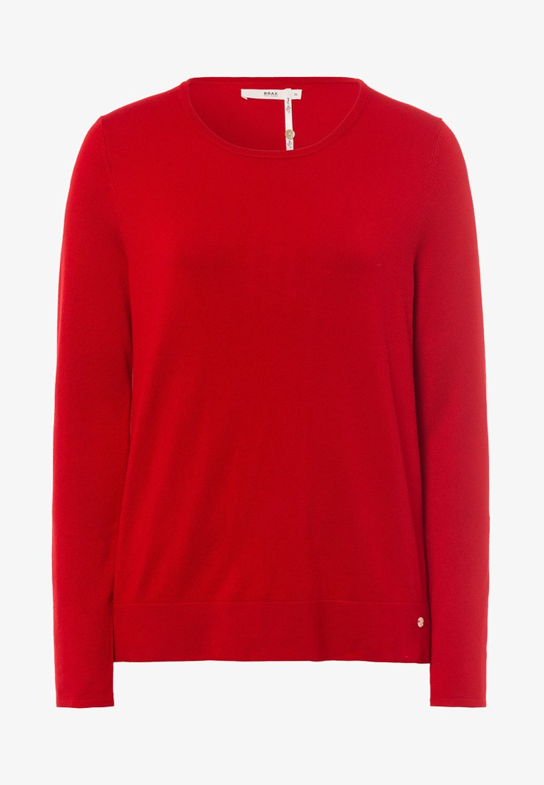 BRAX - Sweatshirt - ruby red