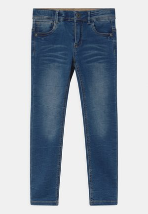 NMMTHEO  - Vaqueros slim fit - medium blue denim