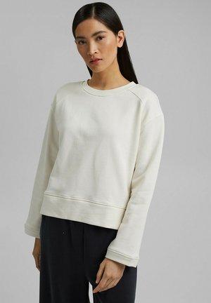 Sweatshirt - off white