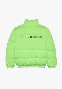 Tommy Hilfiger - PUFFER JACKET - Down jacket - green - 1