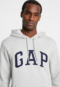 GAP - ARCH - Hoodie - light heather grey - 3