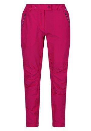 HIGHTON  - Outdoor trousers - dark cerise