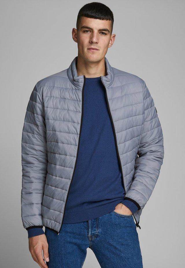 JJEERIC PUFFER COLLAR - Light jacket - asphalt