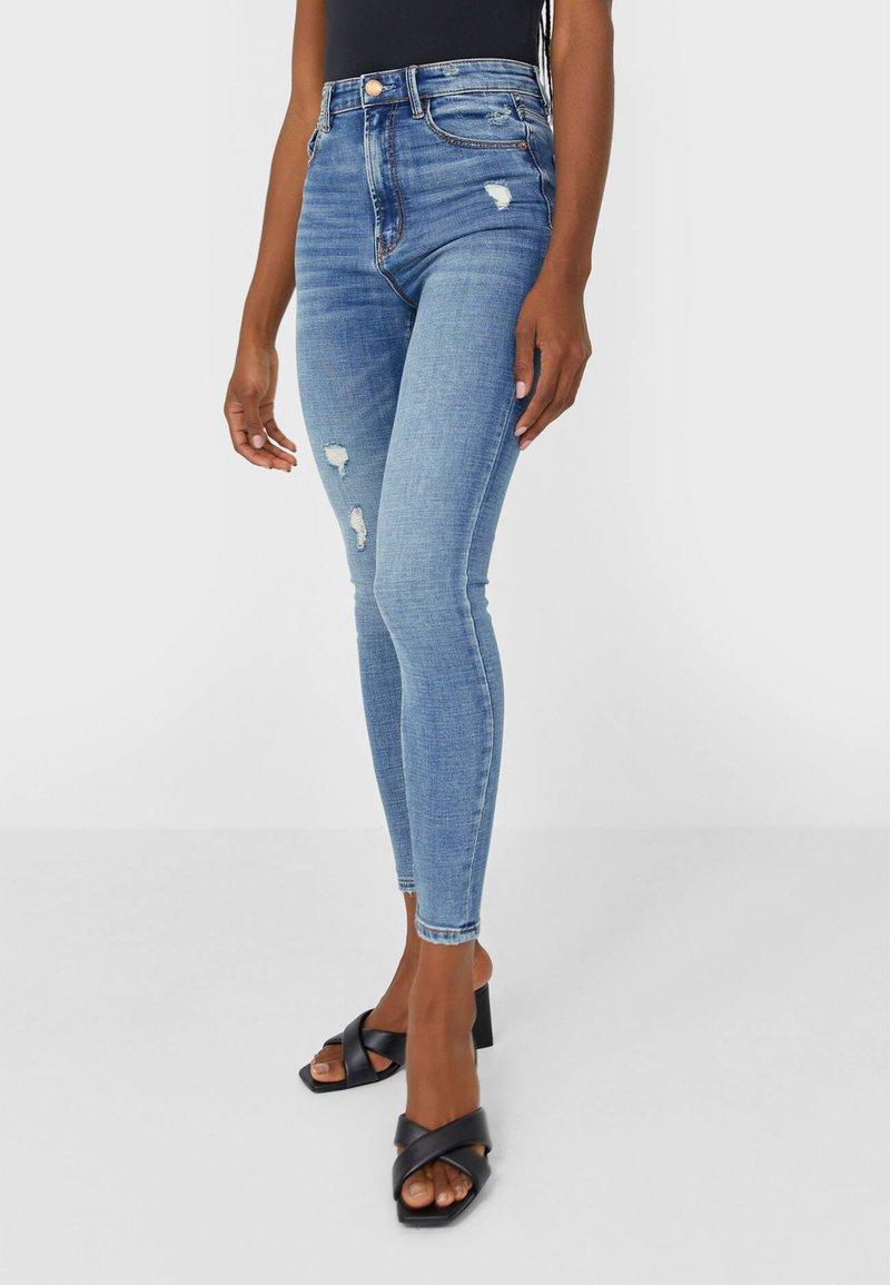 Stradivarius - Jeans Skinny Fit - blue