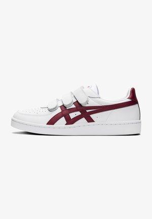 Sneakers laag - white/beet juice