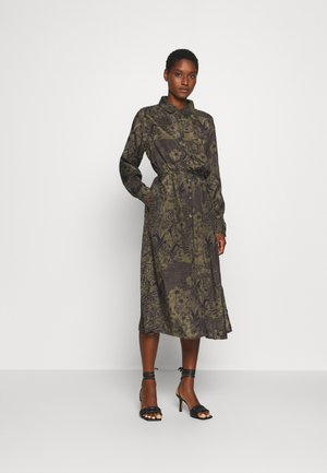 MONNA DRESS - Shirt dress - grape leaf