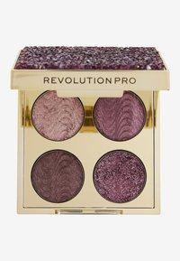 Revolution PRO - ULTIMATE CRYSTAL EYE QUAD - Eyeshadow palette - pink topaz - 1