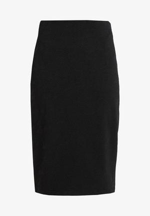 NASELLI - Pencil skirt - black