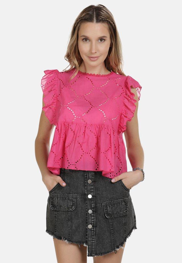 IZIA BLUSE - Bluzka - pink