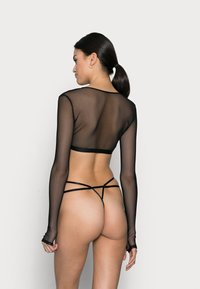 Weekday - DIAMOND THONG - String - black - 2