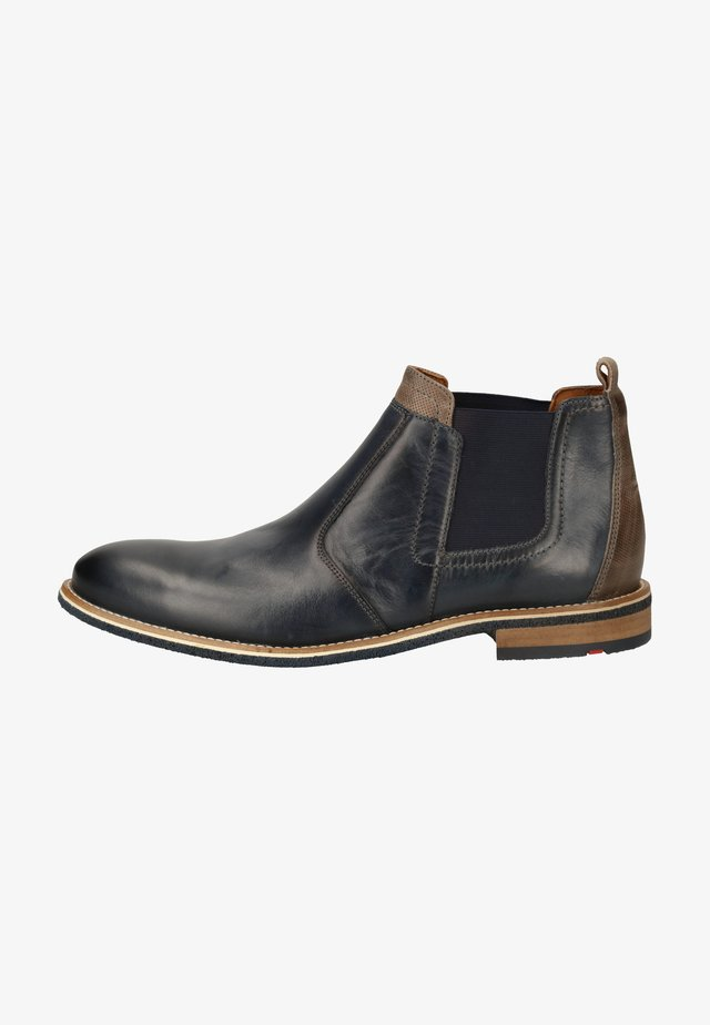 Stiefelette - midnight/fumo