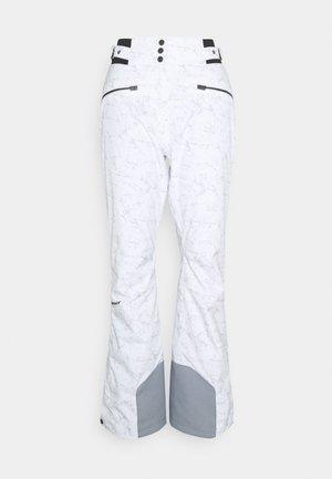 TILLA LADY PANTS SKI - Snow pants - marble grey