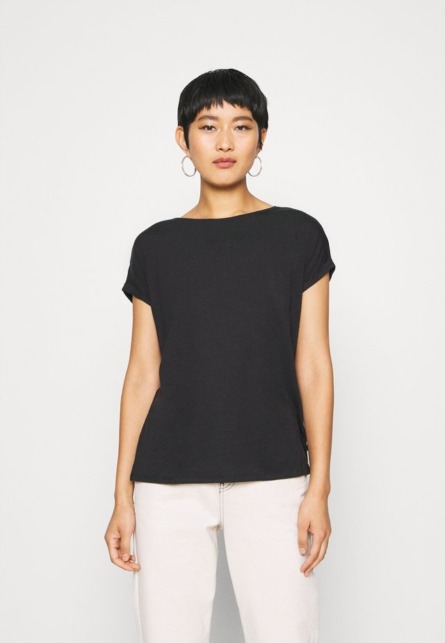 KURZARM - T-shirts basic - black