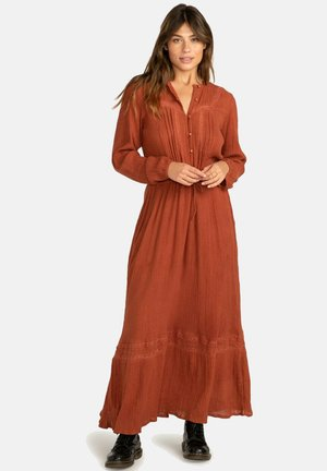Robe longue - bronze