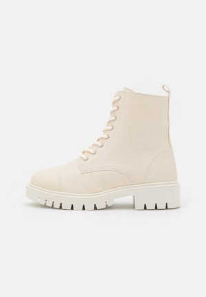 REILLY - Lace-up ankle boots - white