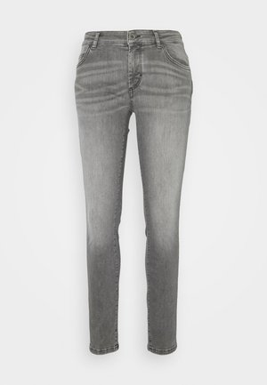 ALBY SLIM - Slim fit jeans - grey wash