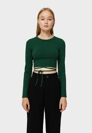 Långärmad tröja - evergreen