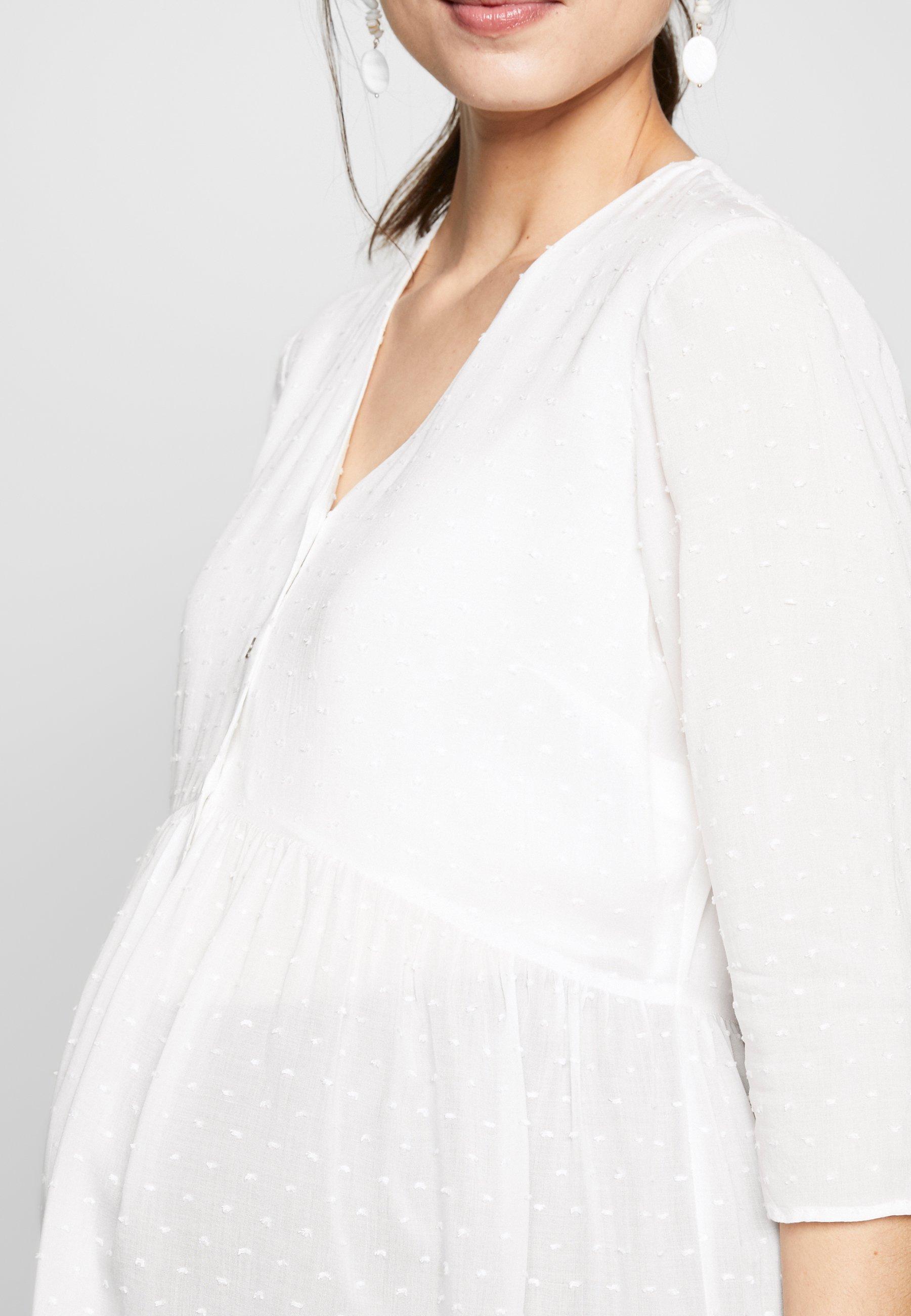 Femme MAGNOLIA V NECK BUTTON FRONT BLOUSE - Tunique