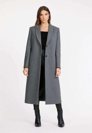 OSLO LONG - Classic coat - tm heather grey/gris chine