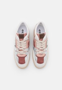 Coach - CITYSOLE METALLIC MID TOP - High-top trainers - silver/pale blush - 4