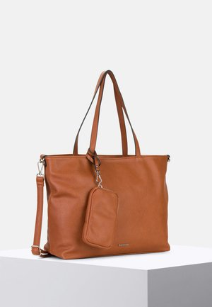 SURPRISE - Shopping Bag - cognac