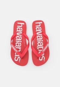 Havaianas - TOP LOGOMANIA  - Pool shoes - ruby red - 3