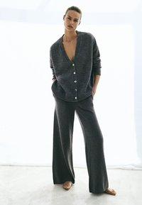 Massimo Dutti - Trousers - grey - 0