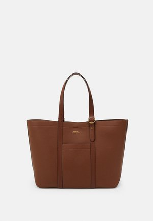 PEBBLED CLASSIC TOTE - Cabas - light brown