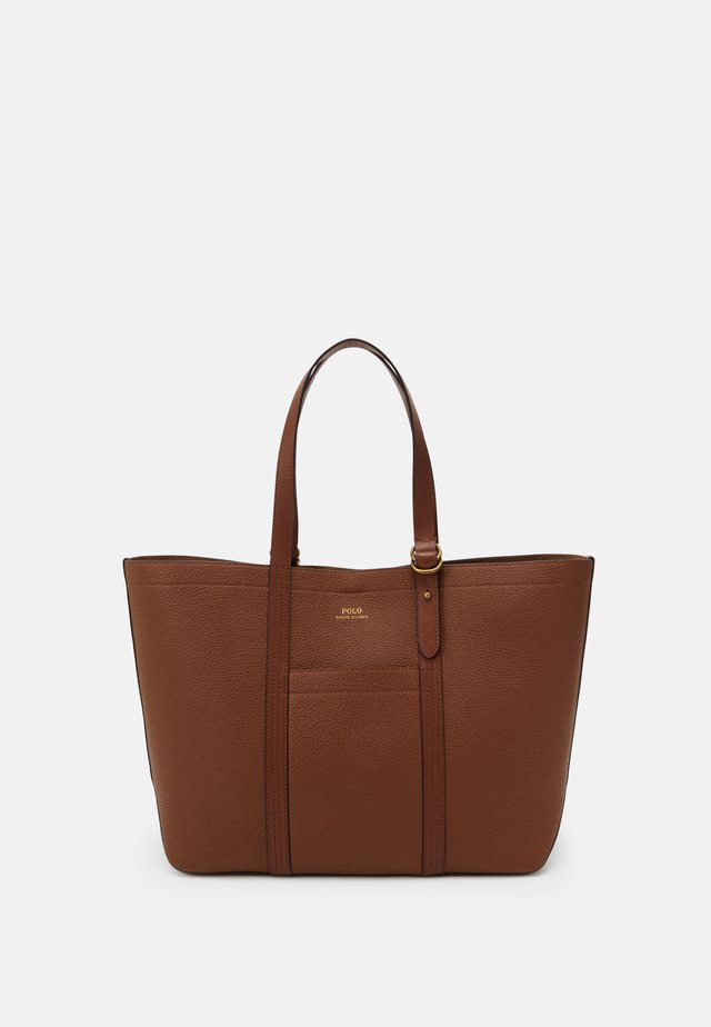 PEBBLED CLASSIC TOTE - Shopping Bag - light brown