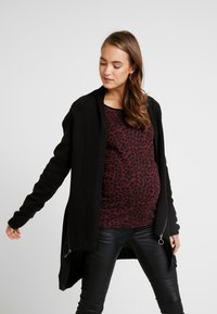 Supermom - CARDIGAN ZIP - Cardigan - black - 0