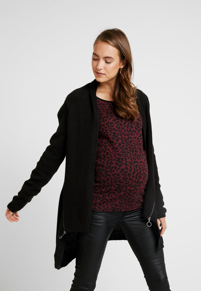 Supermom - CARDIGAN ZIP - Cardigan - black